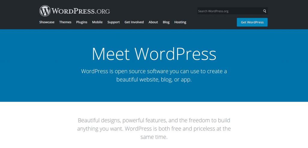WordPress.org site